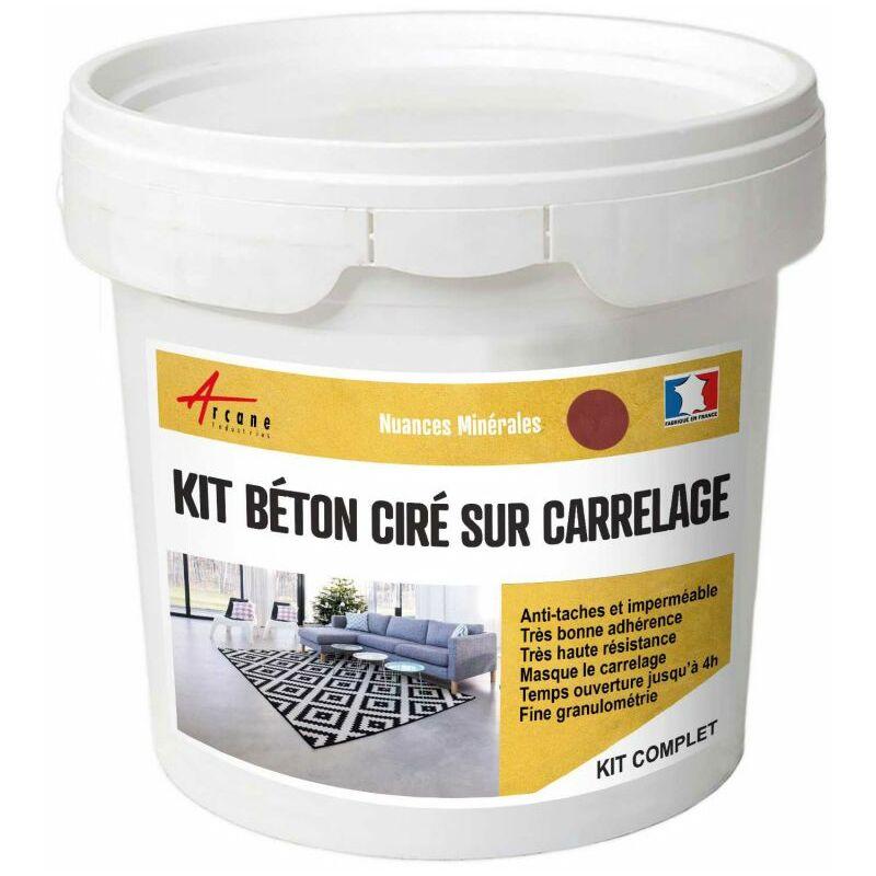 beton cire carrelage pour sols et murs kit beton cire. Black Bedroom Furniture Sets. Home Design Ideas