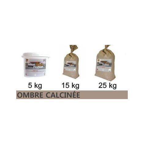 Béton ciré coloré Ombre calcinée KIT COMPLET   5kg (kit complet) ~6m2