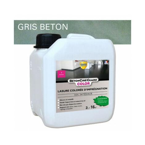 Béton ciré Guard - COLOR - 2L Gris Béton - traite 14m²