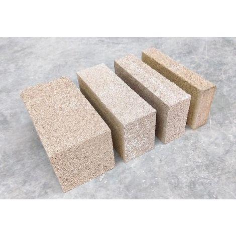 Béton de chanvre en brique MULTICHANVRE de Vieille Matériaux - 200mm - 200mm | palette(s) de 7.2 m² - 0
