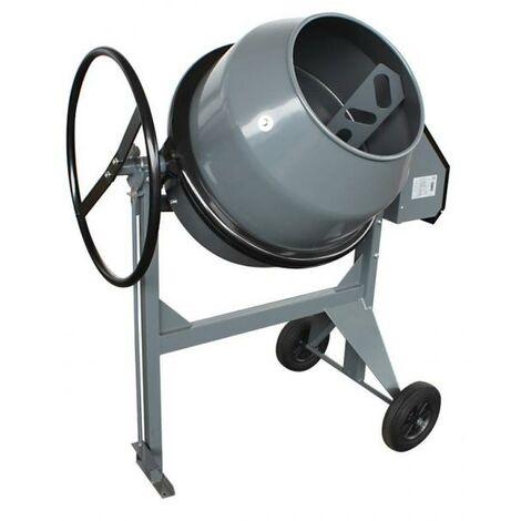 Bétonnière électrique B 180 pour ciment cuve 160 L mono 230 V P 800 W