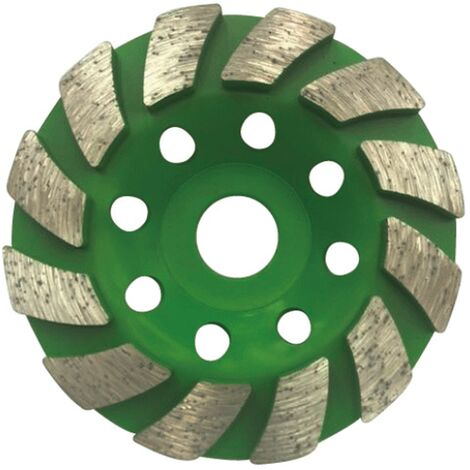 "main image of ""BETT Premium Diamond Cup Wheel 100 mm x 20 mm Diamond Sanding Disc for Concrete, Masonry, Stone"""