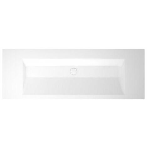Bette Aqua vasque murale sans trou de robinet, A052 1400 x 495 mm, Coloris: Blanc avec BetteGlasur Plus - A052-000,PW