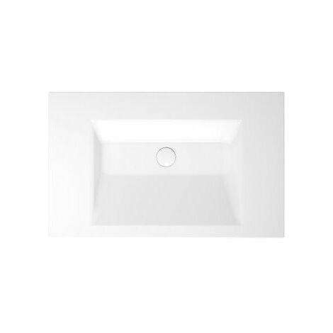 Bette Aqua vasque murale sans trou de robinet, A054 800 x 495 mm, Coloris: Blanc - A054-000