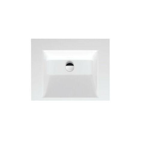 Bette Aqua vasque murale sans trou de robinet, A056 600 x 495 mm, Coloris: Blanc - A056-000