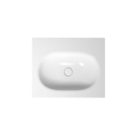 Bette Comodo lave-mains mural sans trou de robinet, A210 600 x 495 mm, Coloris: Blanc - A210-000