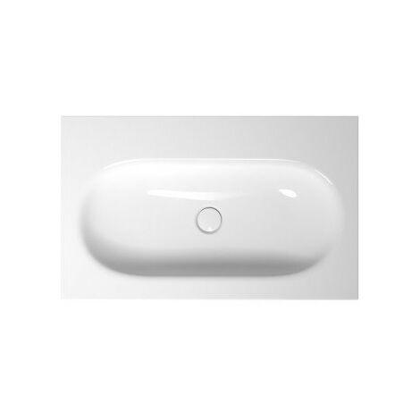 Bette Comodo lave-mains mural sans trou de robinet, A211 800 x 495 mm, Coloris: Blanc - A211-000