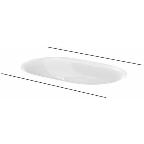 Bette Comodo Vasque à poser, sans trou de robinet, A217, 574 x 380 mm, Coloris: Blanc - A217-000