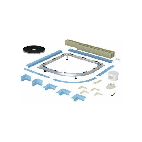 Bette Floor Sistema de instalación enrasado en esquina, 100 x 80 cm - B52-1046