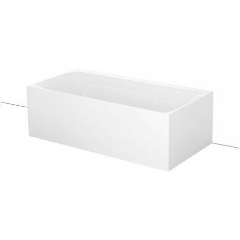 Bette Lux I Silhouette latérale, 180x90cm, baignoire sur pieds, 3461CWVVS, Coloris: Blanc - 3461-000CWVVS