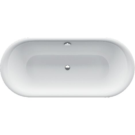 Bette Lux Lux Oval Highline, vasca da bagno 180x80x80x45cm, 3466CFXXH, colorazione: Bianco - 3466-000CFXXH