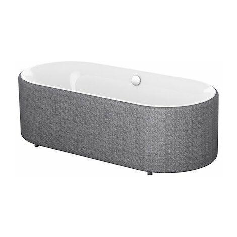 Bette Lux Oval Couture, vasca da bagno 180x80x80x45cm, 3466TX, colorazione: Bianco - 3466-000TX