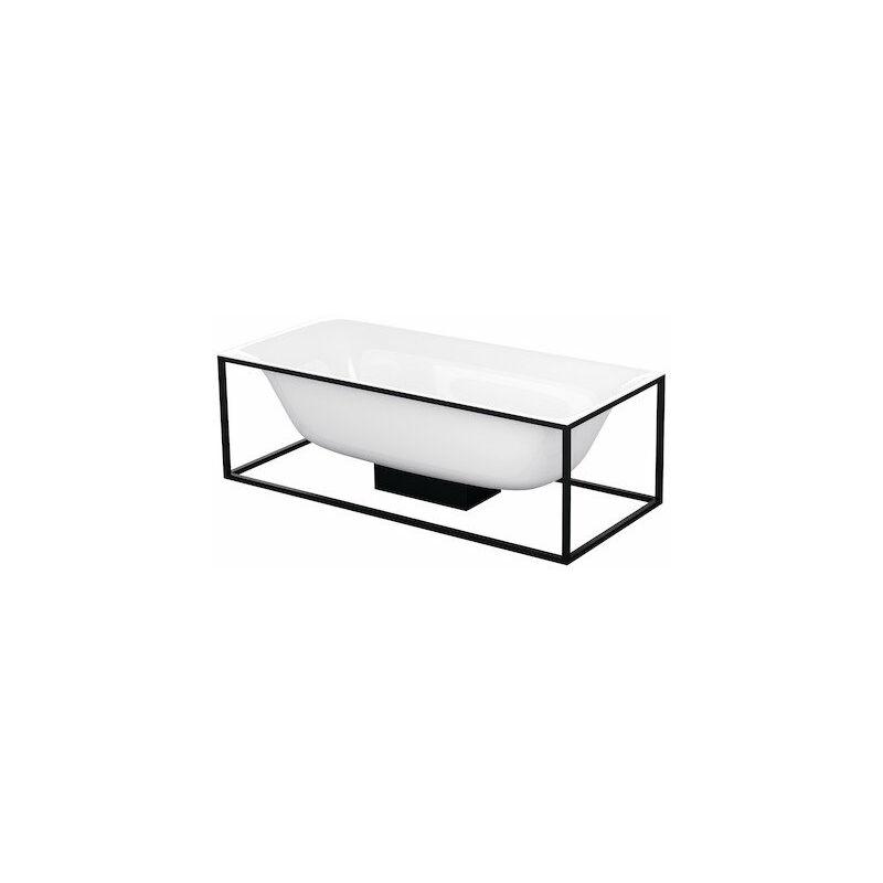 Lux Shape bañera rectangular independiente 170x75x45cm, 2 respaldos inclinados, 3451-, color: Blanco - 3451-000 - Bette