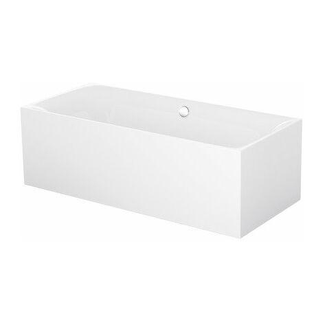Bette Lux Silhouette, 180x80cm, vasca da bagno libera, 3441CFXXS, colorazione: Bianco con BetteGlasur Plus - 3441-000CFXXS,Plus