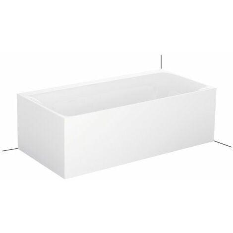 Bette Lux V Silhouette Side, 180x90cm, baignoire sur pieds, 3460CELVS, Coloris: Blanc - 3461-000CELVS