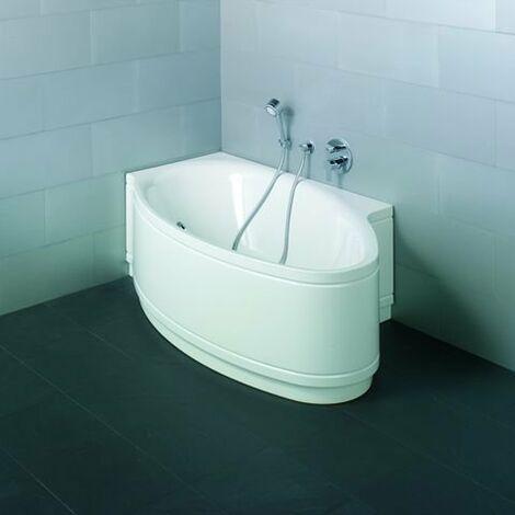 Bette Piscine I Bain Confort Ovale 6053CELV, 161x102cm, droite, Coloris: Blanc avec BetteGlasur Plus - 6053-000CELV,Plus