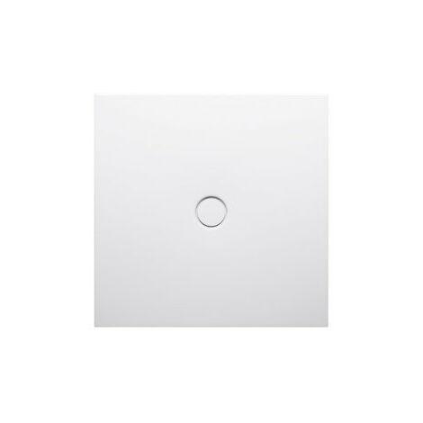 Bette Receveur de douche au sol avec bac à douche antidérapant 8751, 90x80cm, Coloris: Blanc - 8751-000AR