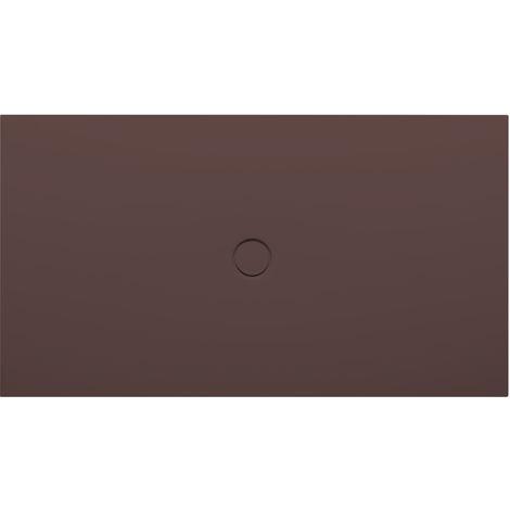 Bette Receveur de douche au sol avec glaçurePlus 5946, 150x100cm, Coloris: Ebano - 5946-434PLUS