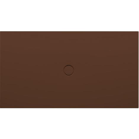Bette Receveur de douche au sol avec glaçurePlus 8631, 110x90cm, Coloris: café - 8631-430PLUS