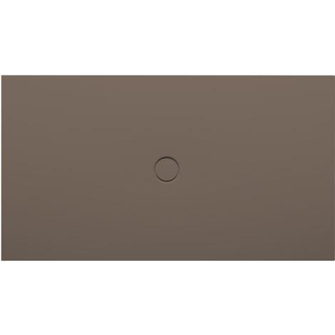 Bette Receveur de douche au sol avec glaçurePlus 8631, 110x90cm, Coloris: Décor Taupe - 8631-438PLUS