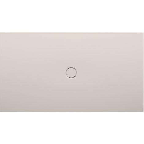 Bette Receveur de douche au sol avec glaçurePlus 8631, 110x90cm, Coloris: lin - 8631-423PLUS