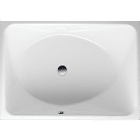 Bette SPA bathtub, 170 x 120 x 45 cm, front overflow, colour: White with BetteGlasur Plus - 6861-000,Plus
