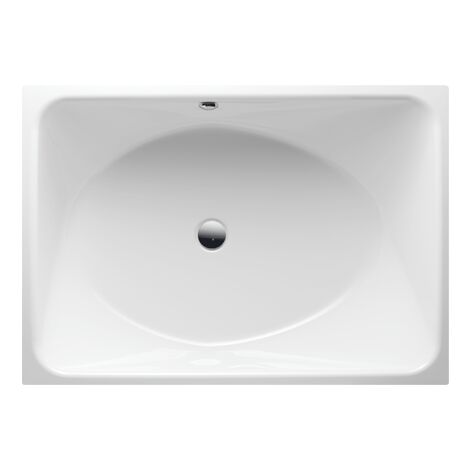 Bette SPA bathtub, 170 x 120 x 45 cm, rear overflow, colour: White - 6860-000