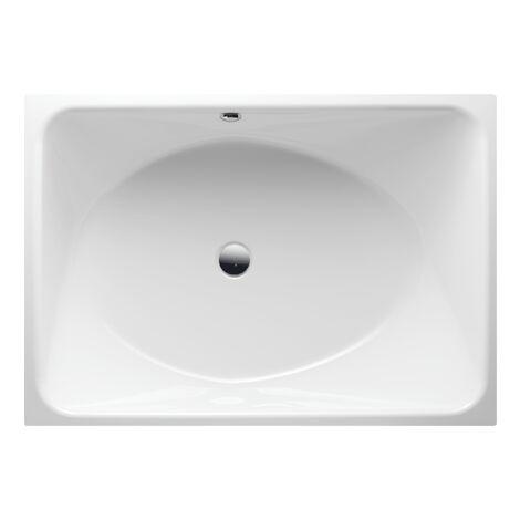 Bette SPA bathtub, 170 x 120 x 45 cm, rear overflow, colour: White with BetteGlasur Plus - 6860-000,Plus