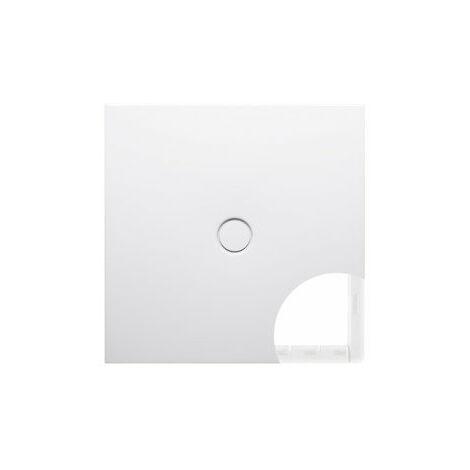 Bette Suelo plato de ducha 8751 con soporte mínimo, 90x80cm, color: Blanco - 8751-000T1