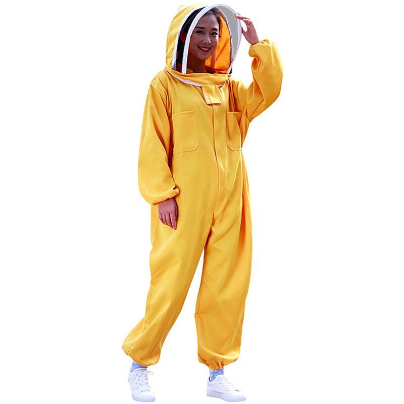 Betterlife Apiculteur vêtements (XL) apiculteur voile abeille vêtements veste équipement outils apiculteur vêtements complets abeille vêtements veste=