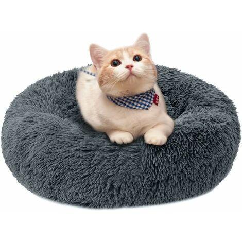 Betterlife Dog House Cat House Amovible et lavable Automne / Hiver Tapis de chien Tapis de chat Pet House Gris 60cm==
