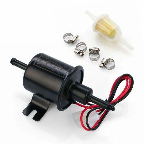 Betterlife Modification de voiture HEP-02A pompe à carburant électronique pompe à carburant diesel 12V pièces d'auto, basse pression