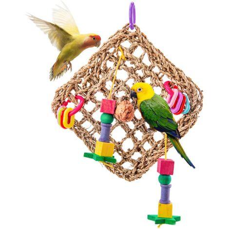 Betterlife Oiseau Jouet Perroquet Jouet Escalade Filet Oiseau Cage Oiseau Jouet Perroquet Rongeur Oiseau Fournitures=