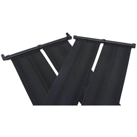 Betterlife Panneaux solaires de chauffage de piscine 4 pcs 80x310 cm