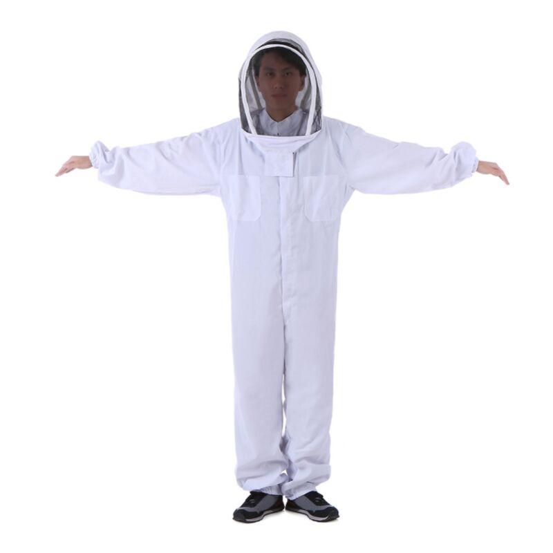 Betterlife Vêtements apicoles (L) Outils apicoles Vêtements pour abeilles Vêtements anti-abeilles épaissis en coton Vêtements de protection une pièce