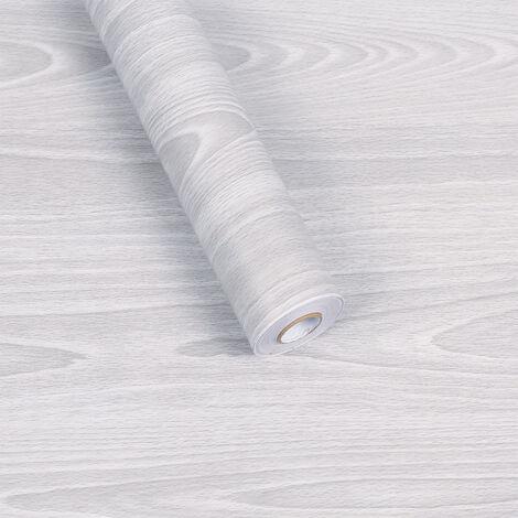 BetterLife Wallpaper, Wooden Grain Stickers, Thick Waterproof Self-Adhesive PVC Paper, 45cm × 10m Wallpaper