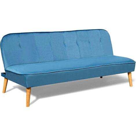 BETTI 3-Seater Click Clack Sofa Bed