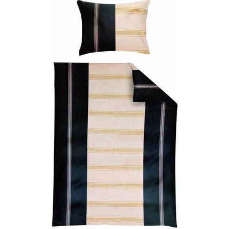 Bettwäsche Fleece 135 x 200 cm mit Reißverschluss Grau