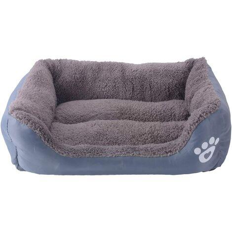 Bettwäsche für Hund - Korb für Hund und Katze - 43 * 32cm (grau)