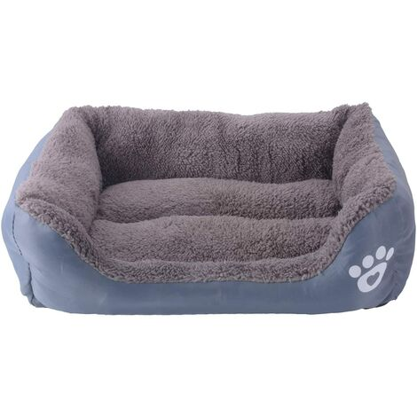Bettwäsche für Hund - Korb für Hund und Katze - 66 * 50cm (grau)