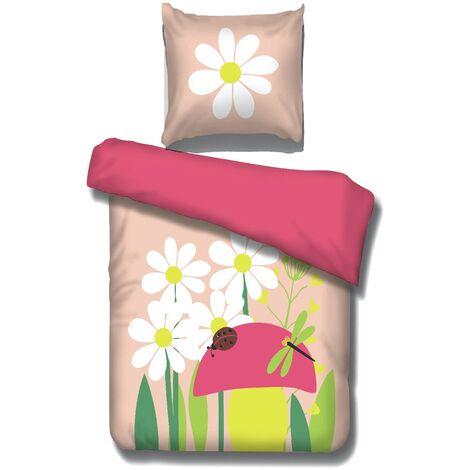 Bettwäsche Peyton Vipack für alle 90*200 cm Betten 2-teilig aus 100 % Baumwolle bei 40° waschbar Frühling
