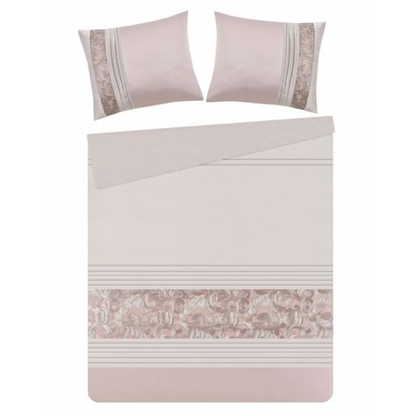 Bettwäsche Set rosa 160 x 200 cm GIARRE