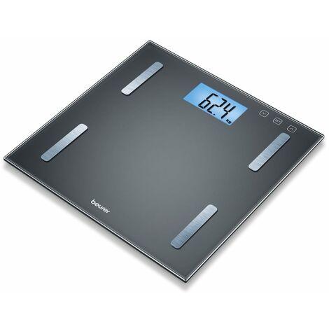 Beurer Analysis Bathroom Scales BF 180 Glass Black