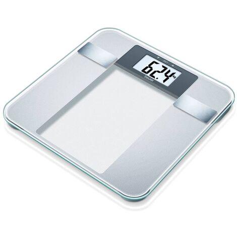 Beurer Báscula de baño analítica BG13 vidrio 760.30