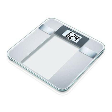 Beurer Báscula de baño analítica BG13 vidrio 760.30 - Transparente