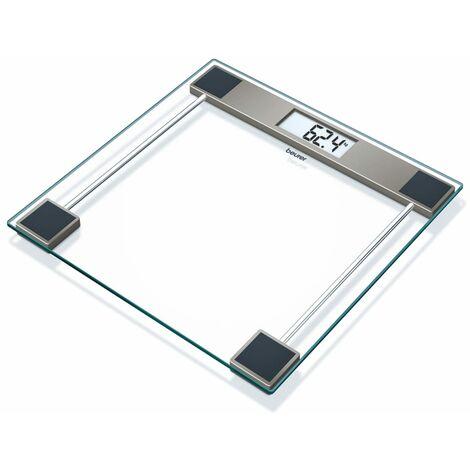 Beurer Bathroom Scales GS 11 Glass Transparent