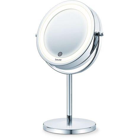 Beurer Espejo cosmético con luz 13 cm BS 55