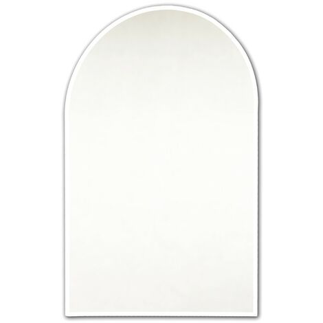 Bevelled Arch Ensuite Mirror 400mm x 500mm