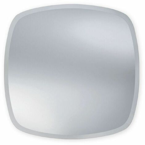 Bevelled Edge Square Bathroom Mirror 700mm x 700mm Wall Mounted Stylish
