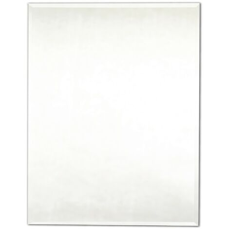 Bevelled Rectangular Ensuite Mirror 400mm x 600mm